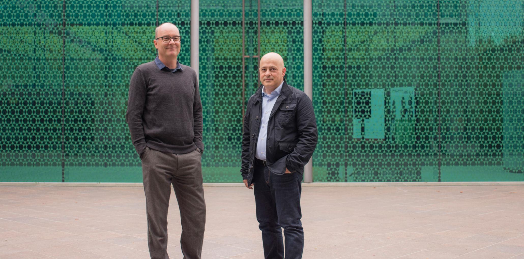 Daniel Faessler und Salvatore Pittalis